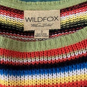 Wild fox size S loose fitting sweater